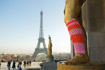 yarn bombing paris