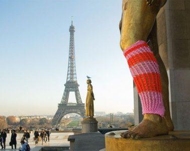 yarn bombing paris